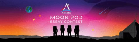 Looking for a fun weekend activity? Why not daydream about a trip to the Moon & use your ideas to enter the Artemis Moon Pod Essay Contest!🤔💭🧳🚀🌕 U.S. K-12 students are eligible to compete for a trip to watch an #Artemis launch! Contest details --> nasa.gov/feature/stem/a…