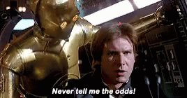 Never Tell Me The Odds Star GIF