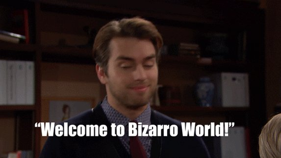 bizarre the bold and the beautiful GIF by CBS