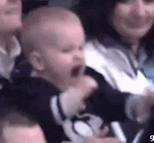 Excited Hockey GIF