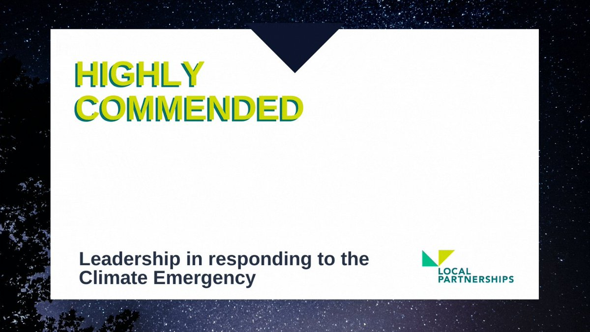 Congratulations @CambsCC!Voted highly commended for Leadership in Responding to the Climate Emergency award, @TheMJAwards, #MJAwards20! 🎉💃🌍