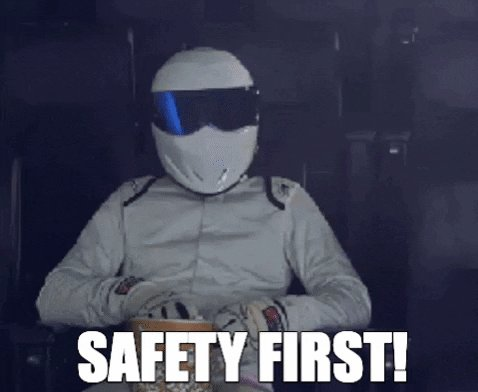 safety first GIF