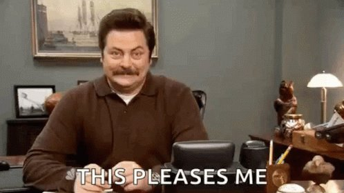 Parks And Rec Ron Swanson GIF