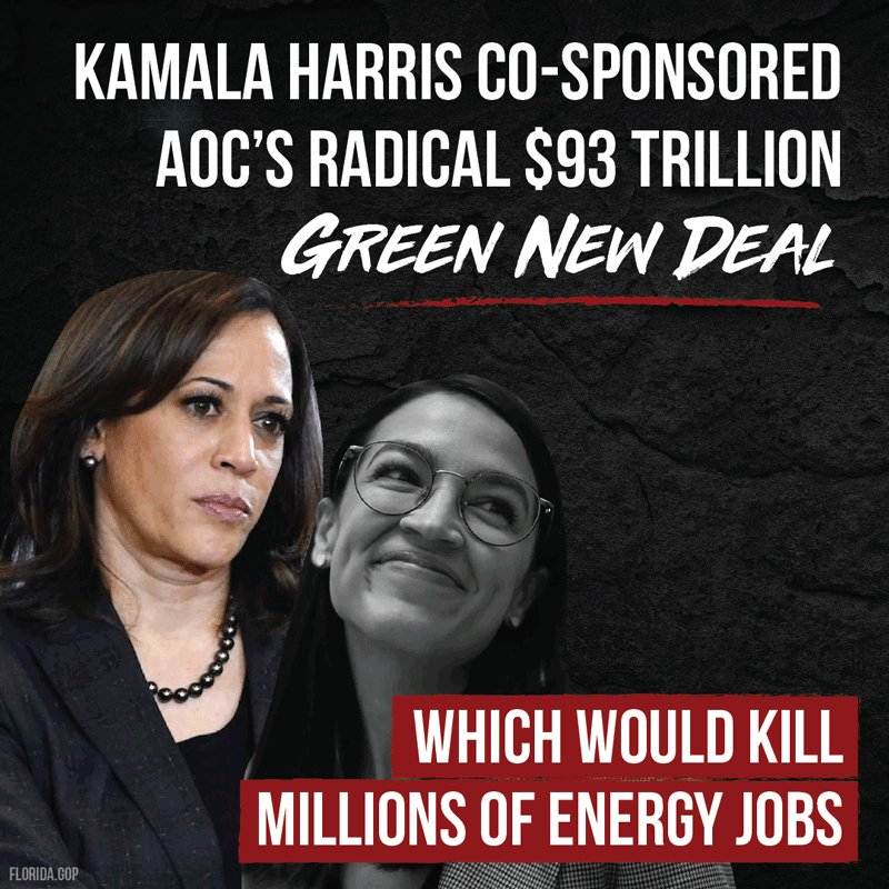 @FloridaGOP's photo on Green New Deal