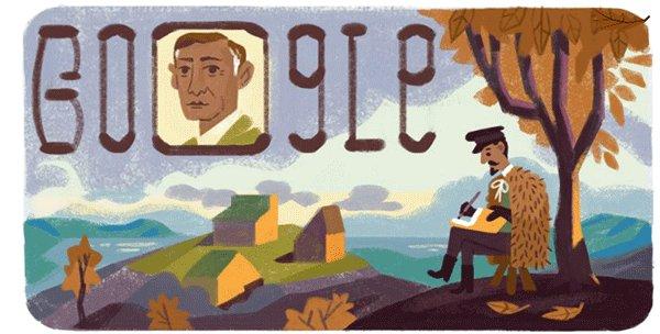 Image for the Tweet beginning: New Google Doodle has been