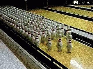 Bowling Pins GIF