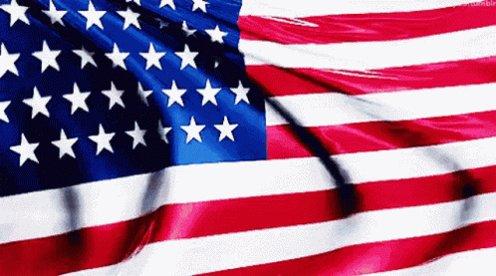 American Flag Waving GIF