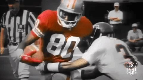 Happy Birthday October 13 To Jerry Rice. SF 49ERS  Legendary WR And HOFer. JC