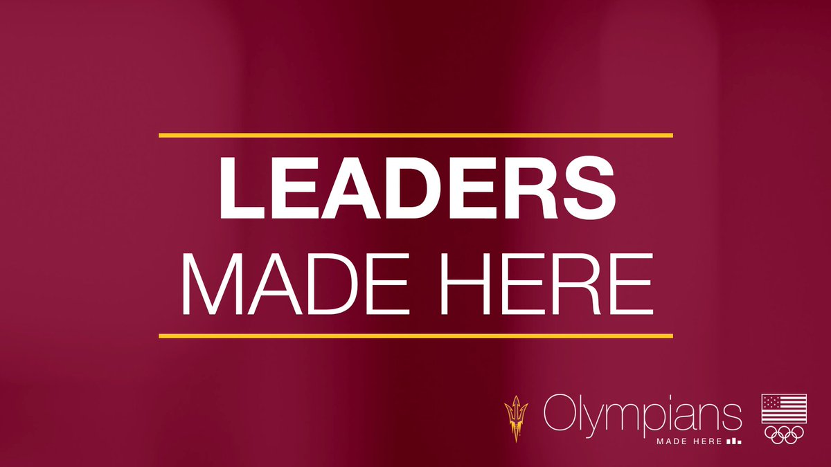 Our athletes are more than athletes. They're scholars, leaders and world changers. #OlympiansMadeHere