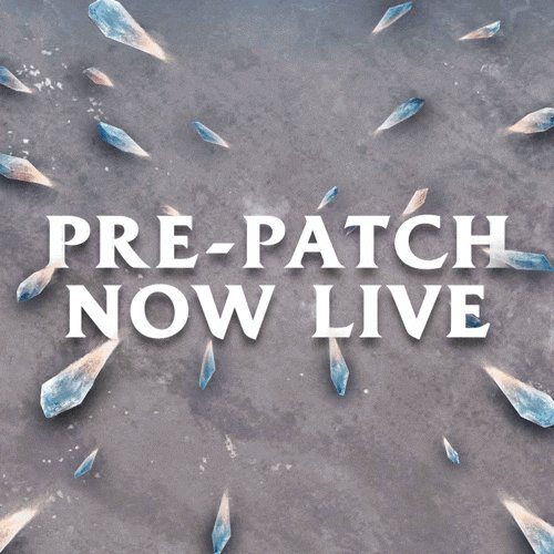 The moment you've been waiting for. Pre-patch is NOW LIVE in NA. 🚨