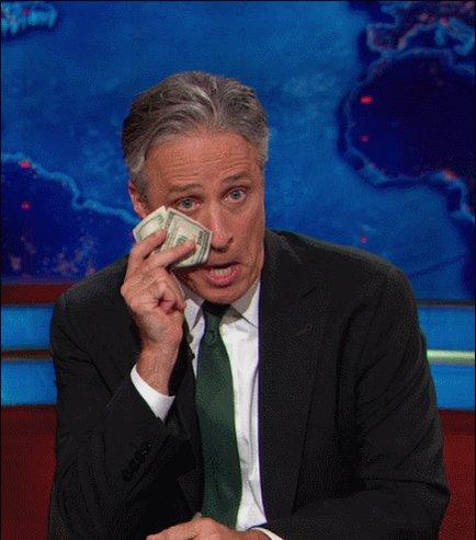 jon stewart crying GIF