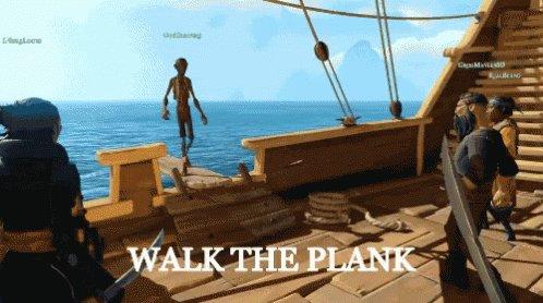 Walk The Plank GIF