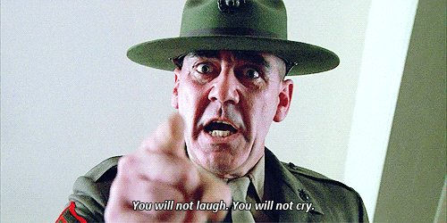 @MichaelMatteoRo PS: couldn't help adding one more... And this from Kubrick masterpiece, Full Metal Jacket.