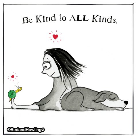 Be Kind Love GIF by Red & Howling