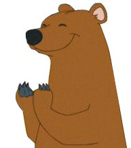 Happy Bear GIF