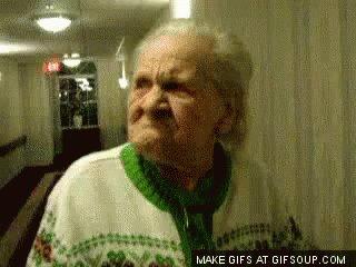 Angry Grandpa GIF