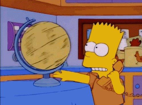 Australia On Globe GIF