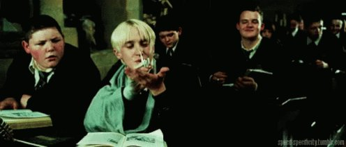 Draco Harry Potter GIF
