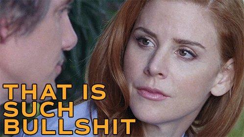 Sarah Rafferty Bullshit GIF by FILMRISE
