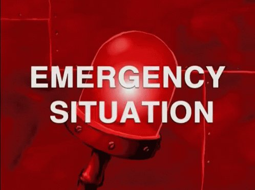 Emergency Situation - Emergency GIF