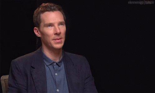 Benedict Cumberbatch Feels GIF