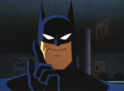 Batman Winger Wag GIF