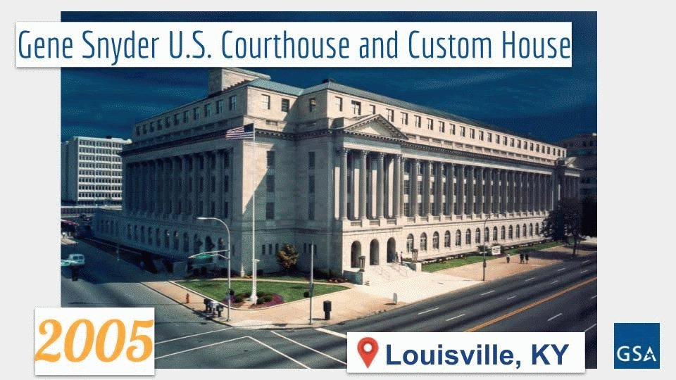 Happy #NationalKentuckyDay! To celebrate, we're highlighting some great federal buildings in the #BluegrassState, such as the historic Gene Snyder U.S. Courthouse and Custom House in Louisville, KY.   ▶️ Learn More: https://t.co/R7a4MpdsYE