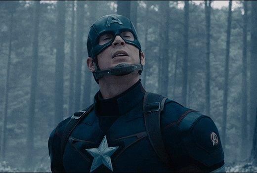 bummed captain america GIF