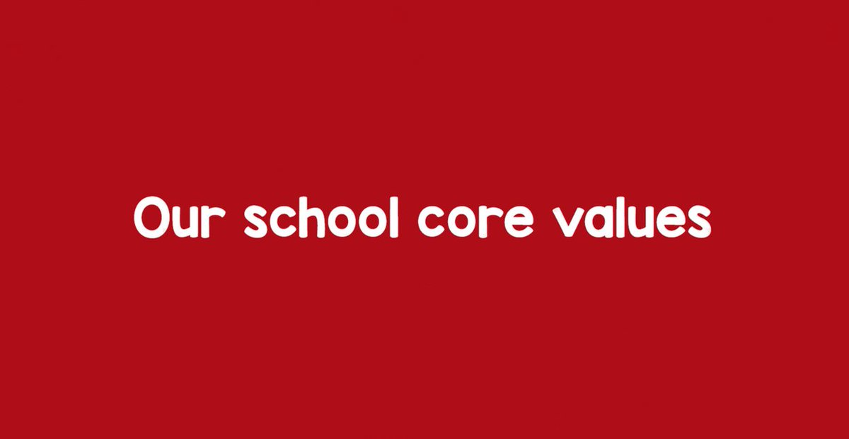 🔻 Core values!  Empathy, Honesty, Respect and Responsibility form the basis of everything we do at our NEW #Barnsley school.   ⏰ Don't miss out! The application deadline is fast approaching. Apply by 31st October for a #Year7 place.