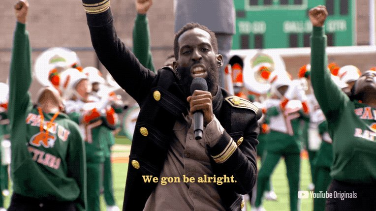 Image for the Tweet beginning: .@TyeTribbett @THEMARCHING100 🙏 @FAMU_1887 brought the