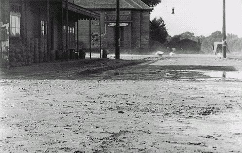 Buster Keaton Storm GIF