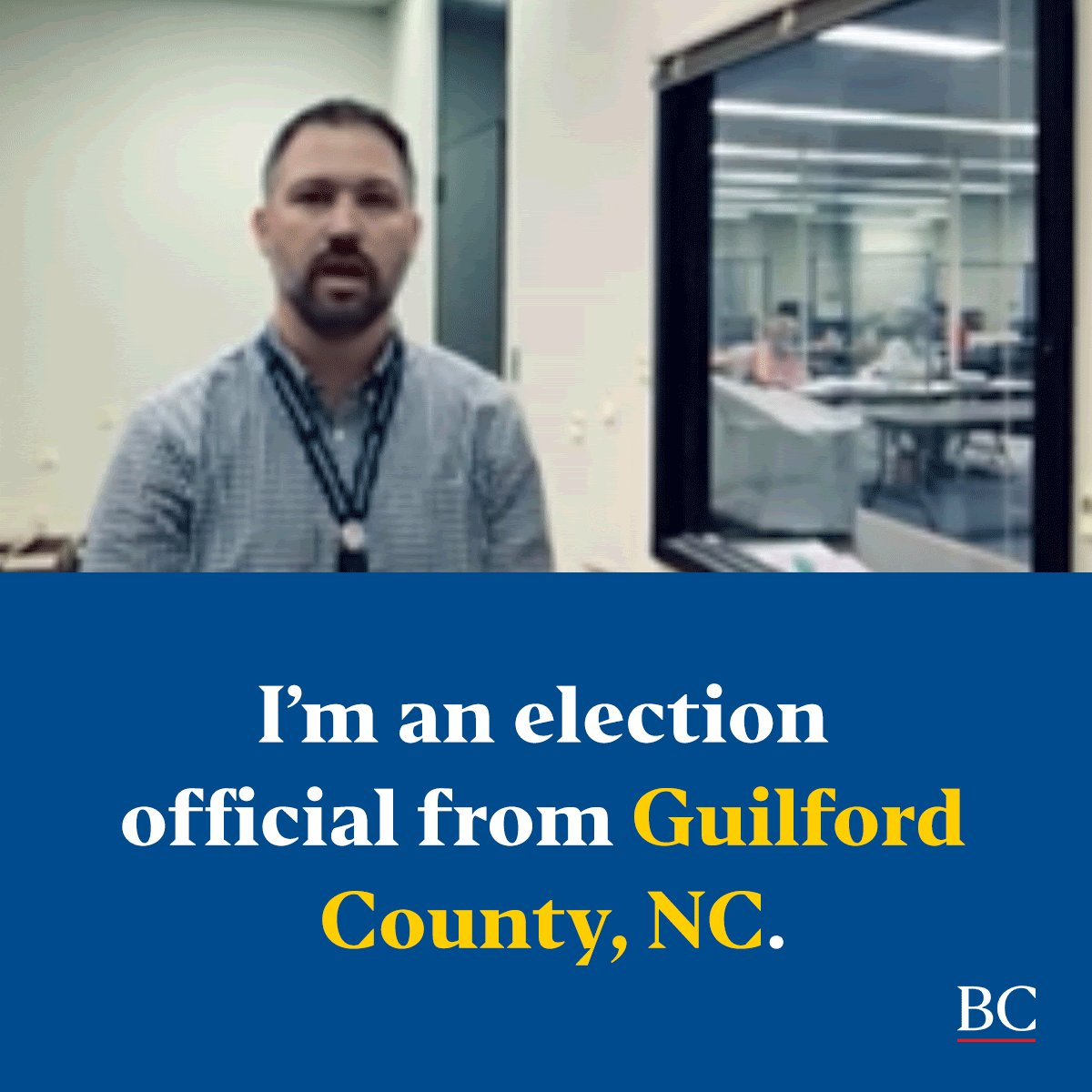 Image for the Tweet beginning: 1) Our local election officials