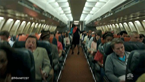 That turbulence was no fucking joke. We was in that bitch like...