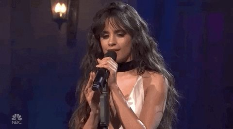""".@Camila_Cabello: """"Each and every one of us is making history for our families. […] You have the power and your voice matters. So #vote. Use that power."""" #Vota  #MomentoOnCBS"""