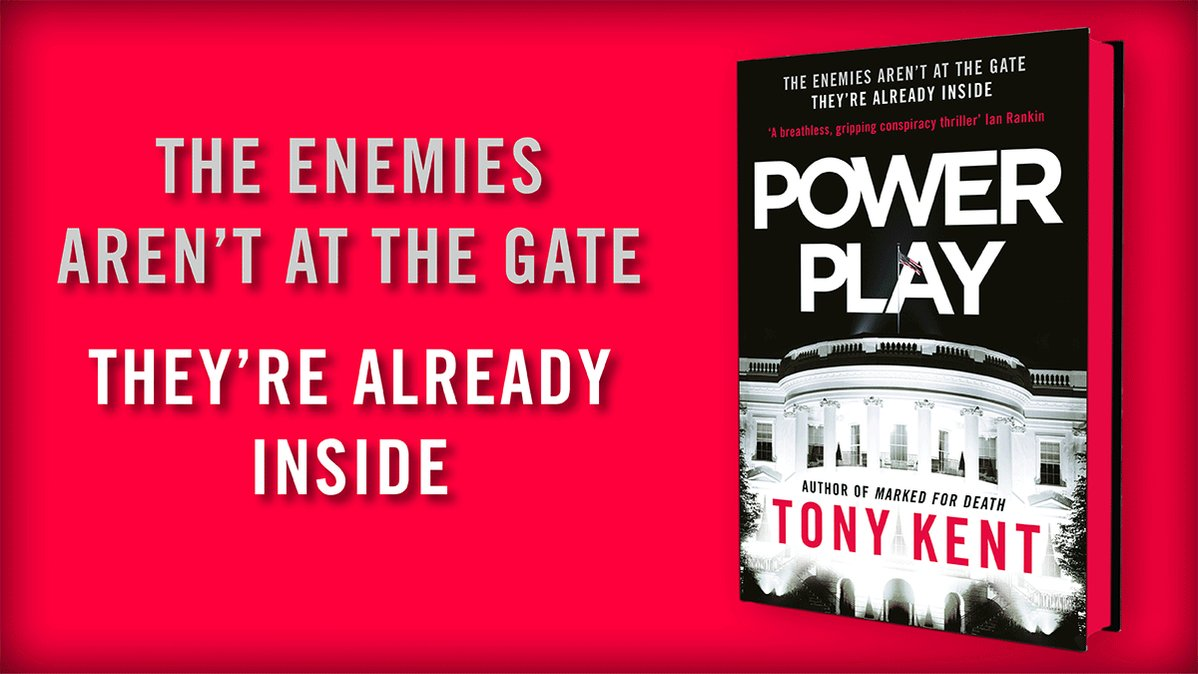This years most topical thriller - #PowerPlay by @TonyKent_Writes THE ENEMIES ARENT AT THE GATE. THEYRE ALREADY INSIDE... Just *99pp* on Kindle for a limited time >>> amzn.to/3ow0m1N