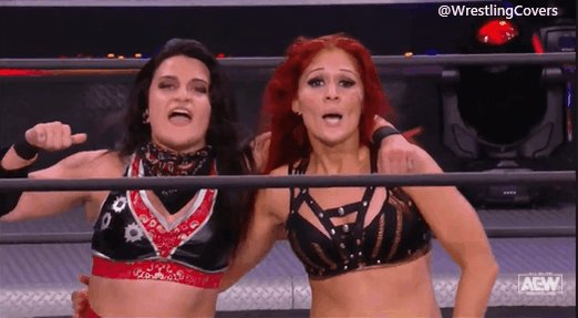 @IMPACTWRESTLING Y'all calling out Ivelisse and Diamante!👀👀 LET'S FN GO!!! 🔥🔥🔥 #IMPACTonAXSTV #AEWDynamite