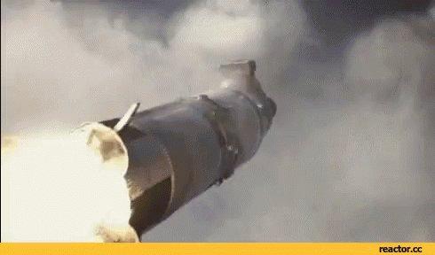 Rocket Launch Astronaut GIF
