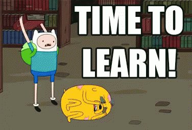 Time To Learn! GIF