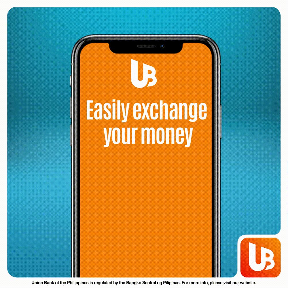 Pesos to dollars or dollars to Pesos--now easy! Download UnionBank Online and experience real-time access to foreign exchange rates, 24/7. #BankTheWayYouLive #BankFromHome  Open an account now!  App Store and Google Play: