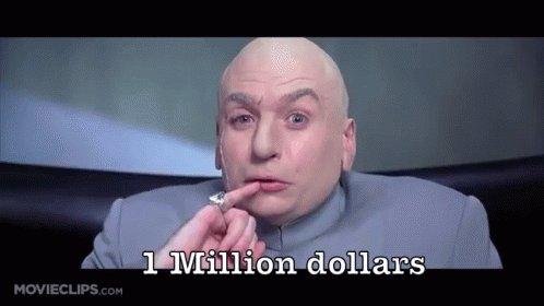 One Million GIF