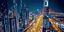 Traffic City Lights GIF