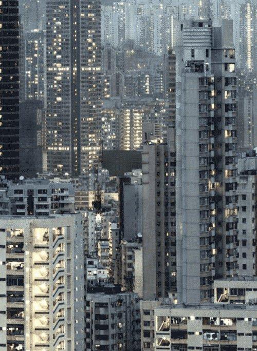 hong kong landscape GIF
