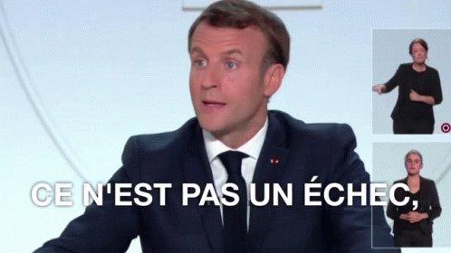 Macron Échec GIF