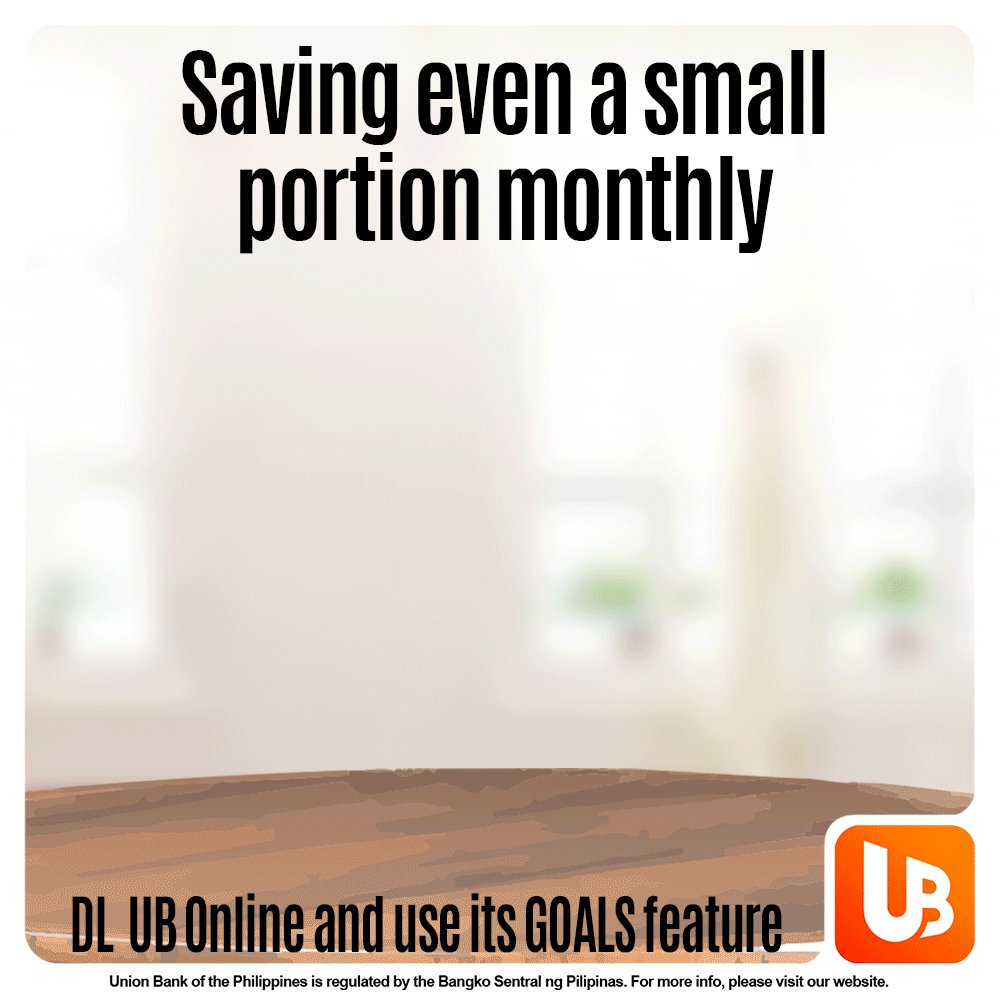 Saving for your goals is now easy with UB Online. Install the app, open an account, and start saving in its 'GOALS' feature. #BankFromHome #BankTheWayYouLive  Download the UB app now!  App Store and Google Play:  Huawei AppGallery: