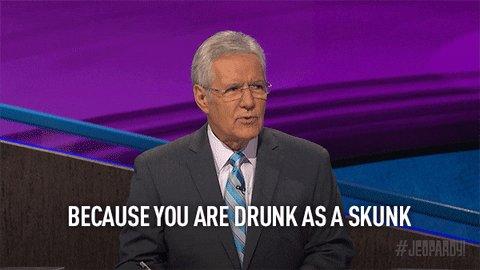 Drunk Alex Trebek GIF by Jeopardy!