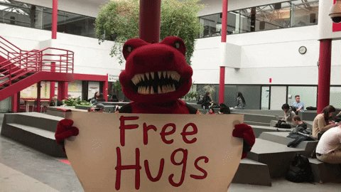 @PHattingpon What? No, that's crazy. Everyone knows hugs are free.