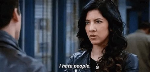 Hate People GIF