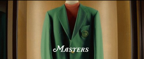 The @TheMasters is a welcome break from the ongoing #2020  🗑 🔥 #GreenJacket