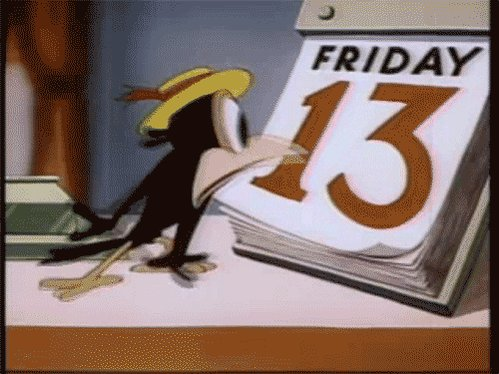 Friday The 13Th GIF by Digg