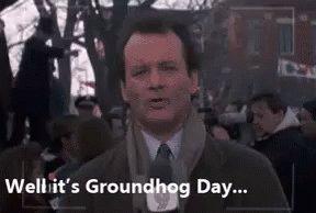 Groundhog Day GIF